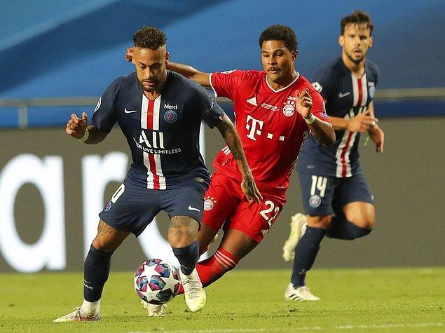 Şampiyonlar Ligi finalinde Bayern Münih ile Paris Saint-Germain karşı karşıya geldi.