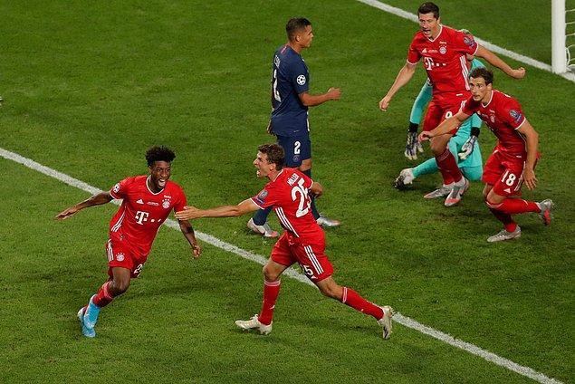 maçtaki sessizliği 59. dakikada Bayern Münih bozdu.