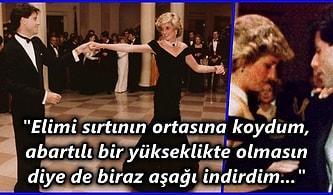 Tüm Gözlerin Pürdikkat Kesildiği Şehvet Dolu Anlar! Çapkın Aktör Travolta Prenses Diana'nın Elbisesine Adını Nasıl Verdi?