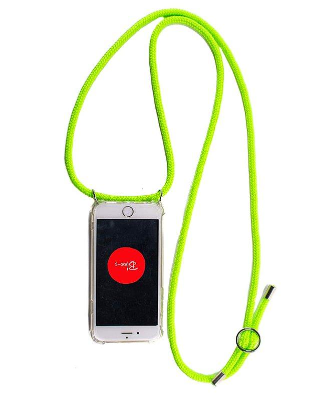 14. Cep telefonlarının da çok daha sağlam ve taşınabilir olması için şöyle bir askı ve kılıf satın alabilirsiniz.
