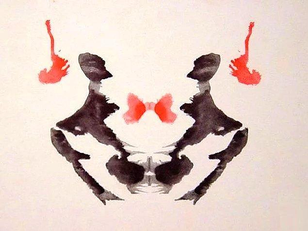 8. Bu mürekkep görselini görünce zihninde ne canlanıyor?