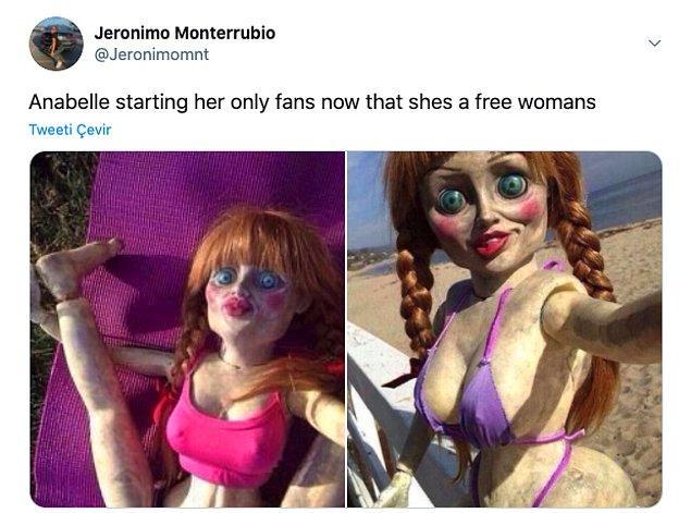 """14. """"Anabelle kendi only fans hesabını açtı, artık o özgür bir kadın."""""""