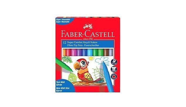 16. Keçeli kalemler de size capcanlı renkler sunabilir.