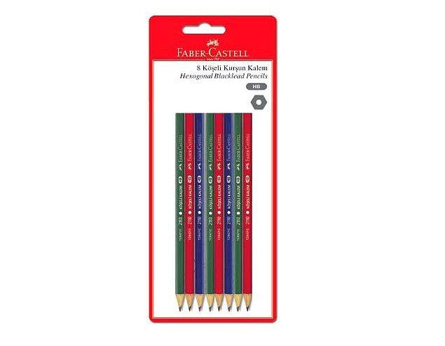 18. Bu kurşun kalemler çok şekil!