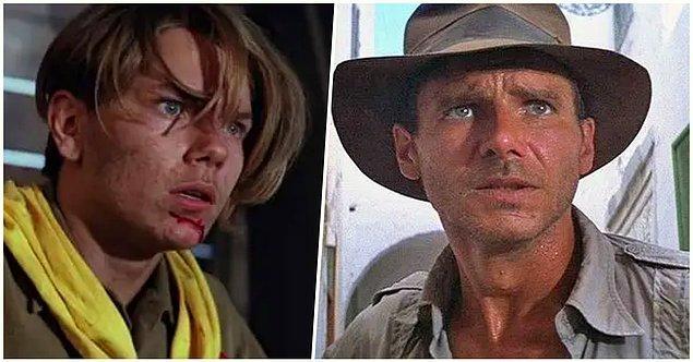 4. 'Indiana Jones: Son Macera'da Harrison Ford'un gerçekten çenesinde var olan yara filmdeki efsanevi kırbaç sahnesine ilham olmuştur.