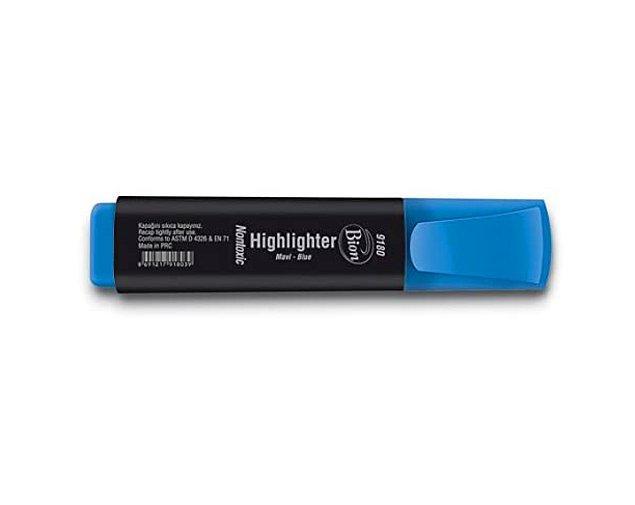 16. Önemli kelime ve cümlelerin en büyük dostu, fosforlu kalemler.