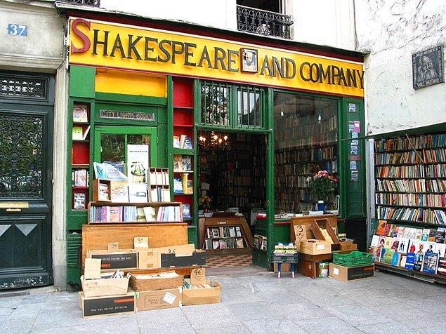 1. Shakespeare and Company Kitabevi, Paris/Fransa