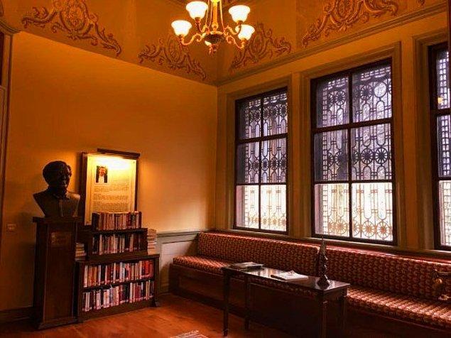 4. Ahmet Hamdi Tanpınar Edebiyat Müze Kütüphanesi, Fatih, Eminönü/İstanbul