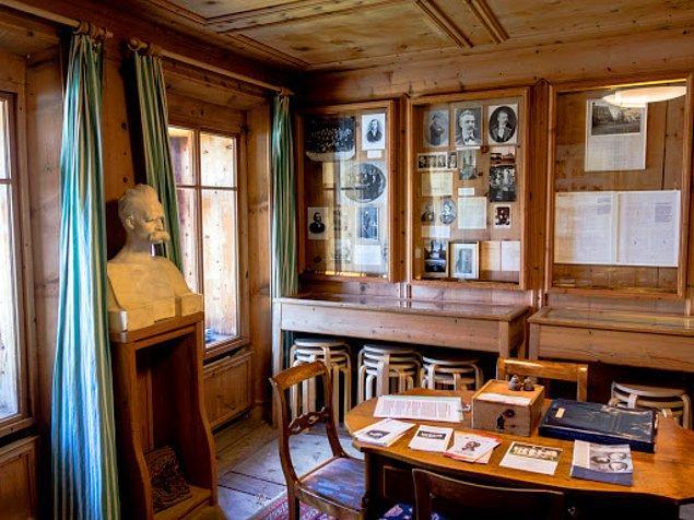 7. Nietzsche Evi, Sils-Maria/İsviçre