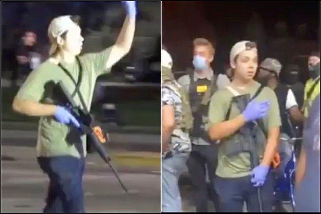 Jacob Blake olayının ardından Wisconsin'da protestolar başladı.
