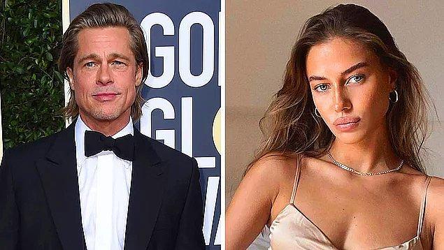 2. Uzun süredir kalbi boş olan Brad Pitt, aşkı 27 yaşındaki model Nicole Poturalski'de buldu!
