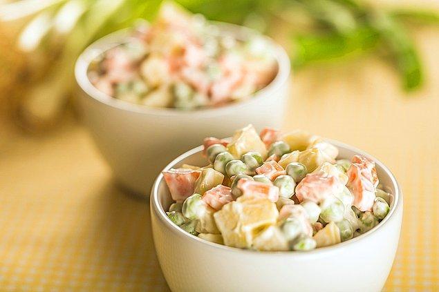 12. Rus salatası