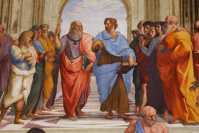 M.Ö. 400'lere geldiğimizde, Platon sanatın, doğanın ve insan davranışının taklidi olduğunu ileri sürmüştür.