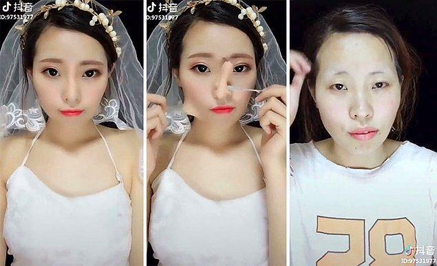 Sadece estetik değil, makyaj uygulamaları da burnu daha ince ve kalkık göstermek için kullanılıyor.