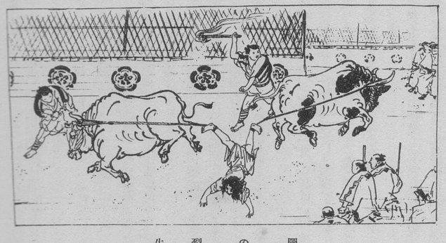 4. Japonlara özel bir idam şekli olan Ushizaki yönteminde mahkum, ayaklarından iki boğaya bağlanıyor.