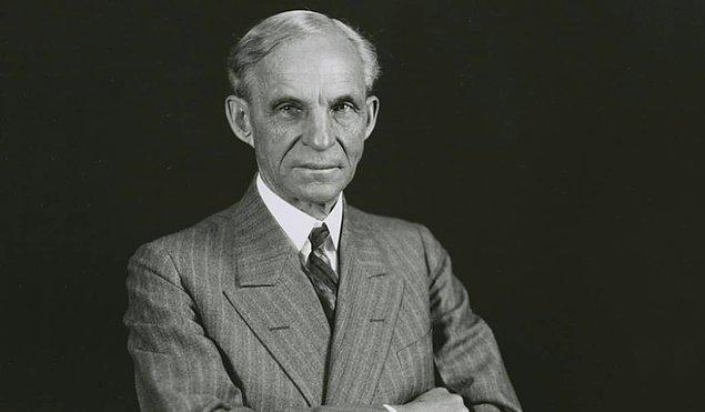 12. Henry Ford - 67-200 Milyar $