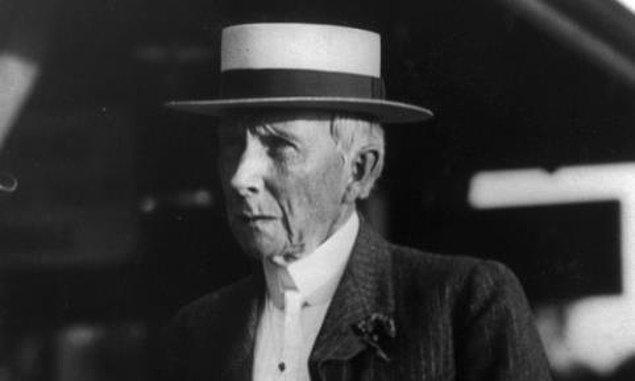 4. John D. Rockefeller - 253-400 Milyar $