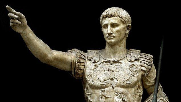 1. Augustus Ceasar - 4,6 Trilyon $