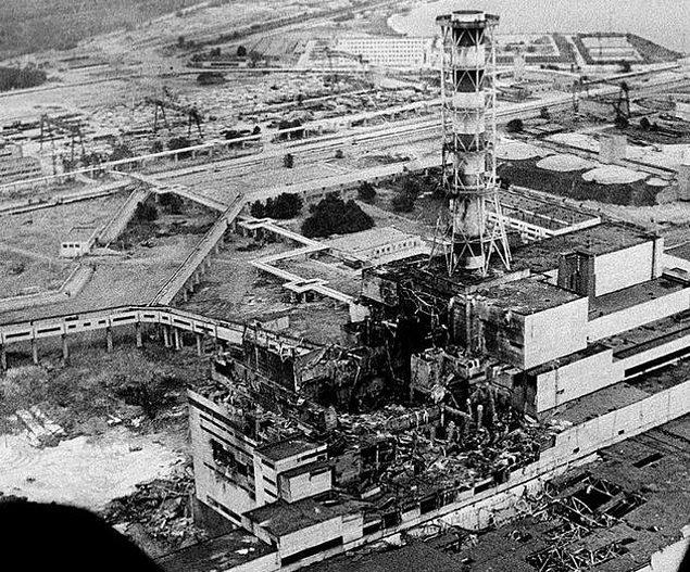 1986'ya gelindiğinde Çernobil faciası yaşandı.