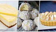 Hafif Tatlıların En Güzel Eşlikçisi Limon ile Yapabileceğiniz 11 Leziz Tarif