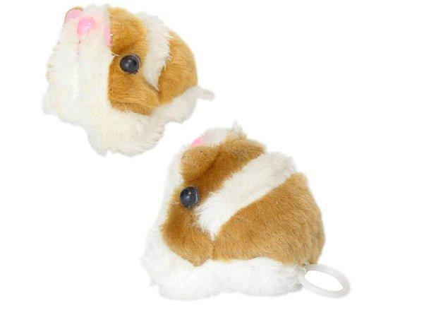 21. Titreyen peluş hamster onların kaybedip kaybedip arayacağı minikler.