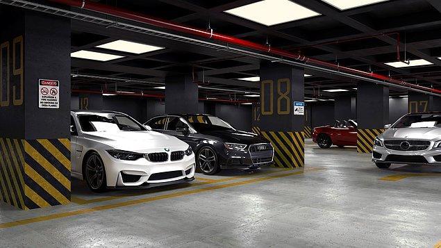 3. Arabanızı park etmek istiyorsanız, her an her yerden bir vale çıkabilir.
