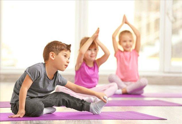 6. Oyun, fiziksel aktivite ve egzersiz için vakit ayırın.