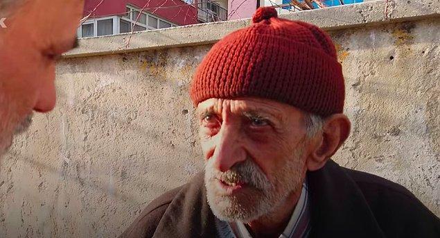 Hamza amca eşine yıllarca çok iyi bakmış fakat yaşı ilerledikçe zorlanmaya başlamış, gözleri de bozulmuş.