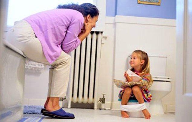 Tuvalet eğitimini ele alalım: