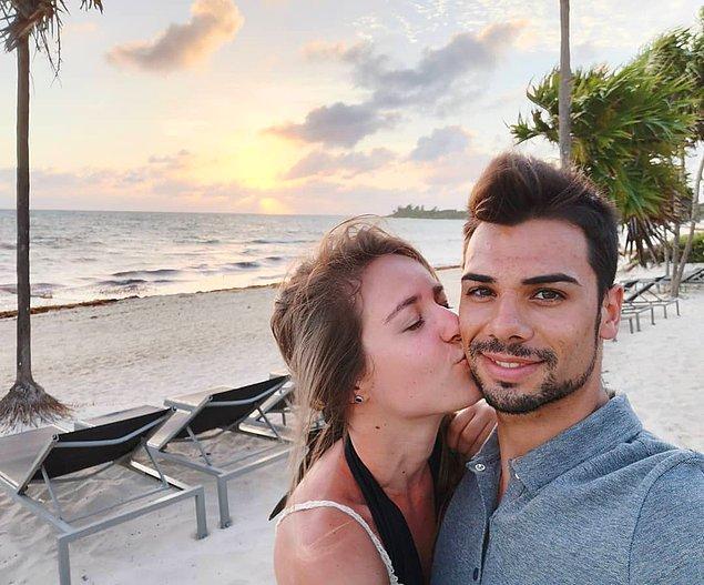 Miguel, 13 yaşından beri gizlice birlikte olduğu üvey kız kardeşi Andreia Pimenta ile nişanlandıklarını açıkladı.