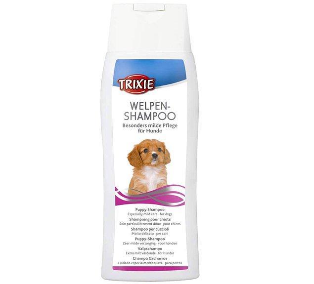 15. Özellikle yavru köpeklerin hassas cildine uygun bir şampuan.