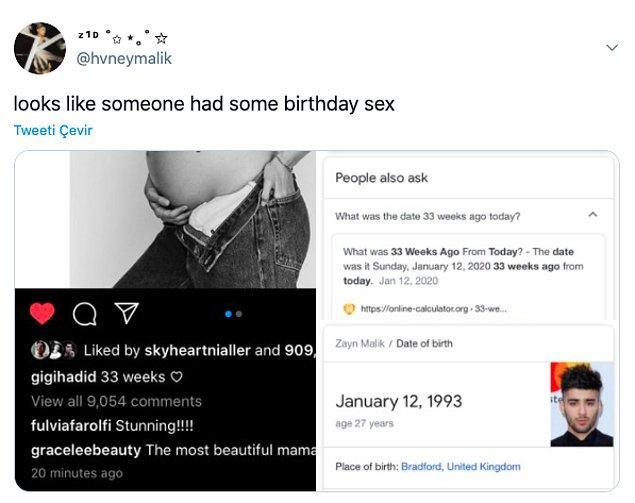 """2. """"Birileri doğum günü seksi yapmış galiba."""""""