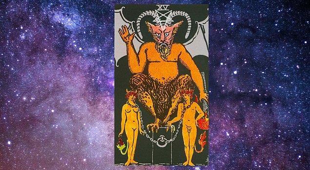"Seçtiğin Kart; ""Şeytan"""