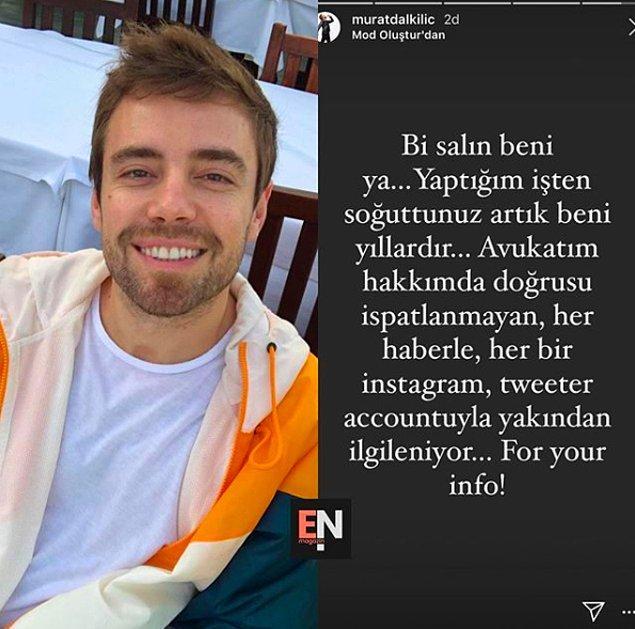 Murat Dalkılıç, voleybolcu Derya Çayırgan ile yeni bir aşka yelken açtığı haberlerine isyan etti!