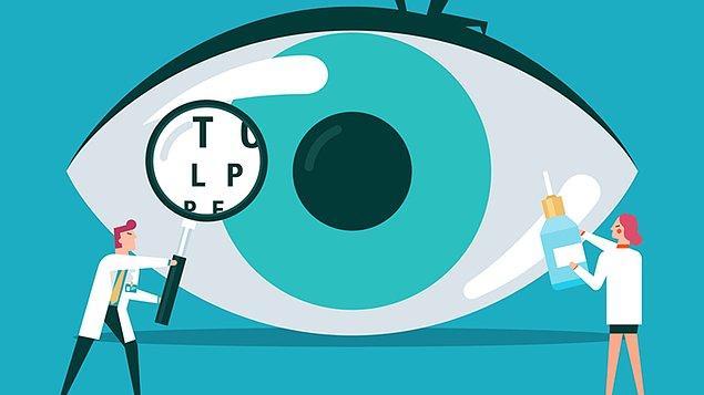 Göz sağlığımız için farklı bir durum söz konusu olmadığını sürece göz muayenemizi yılda bir kere olmalıyız.