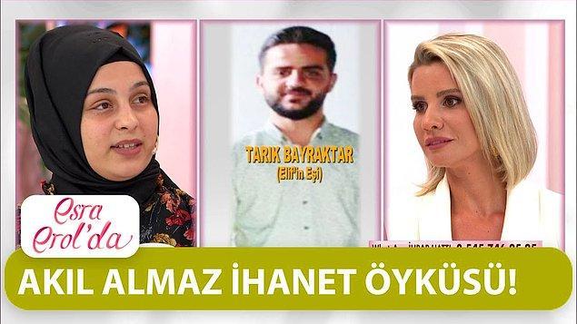 Esra Erol'a katılan 19 yaşındaki Elif'in Facebook üzerinden tanışıp evlendiği eşi Tarık Bayraktar ve ailesiyle ilgili ortaya attığı iddialar herkesi hayrete düşürdü.