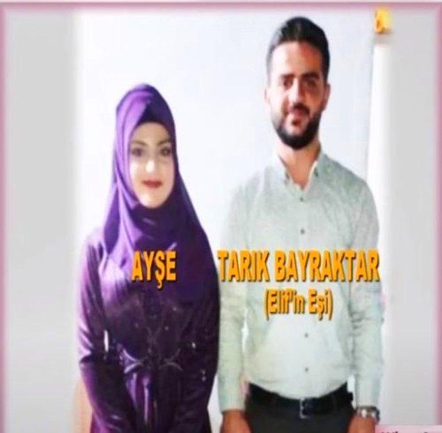 Ayşe isimli bir kadınla dini nikahla evlenmiş. Bu arada Ayşe'nin ailesi Tarık'ın resmi olarak evli olduğunu da bilmiyormuş.