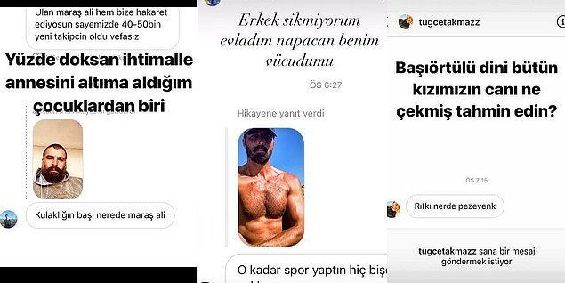 4. Son zamanlardaki saldırgan tavırlarıyla gündeme gelen oyuncu Mehmet Akif Alakurt'un takipçilerine attığı ağır hakaret içeren mesajlar gündem oldu!