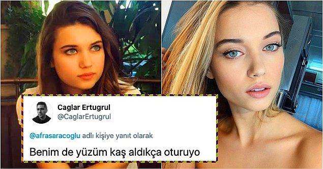 6. Afra Saraçoğlu yüzünde estetik olduğu iddialarını 'Yaş aldıkça yüzüm oturdu!' diyerek yalanlayınca; sosyal medyanın diline düştü!