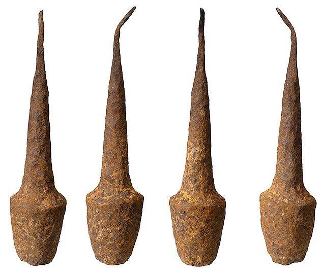 16. Orta Afrika'da Bafya patates ezicisi,patates ezmek için çok yaygın olarak kullanılıyor.