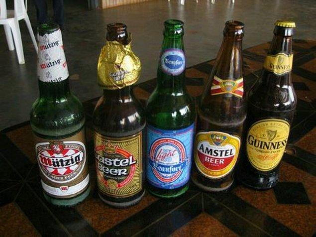 11. 2005 yılında Kamerun'daki bir bira fabrikası, satışları artırmak için bira şişesi kapakları altında ödül teklifleri basmaya başladı.