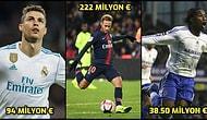 Bu Bedeller Dudak Uçuklatıyor! 1996 Yılından Bu Yana Transfer Dönemlerinin En Pahalı Futbolcuları