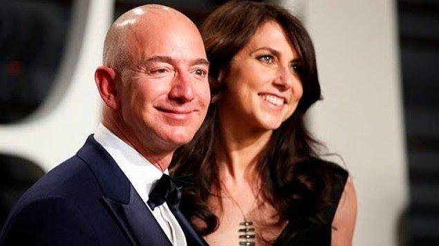 Bildiğiniz üzere servetiyle sık sık çenemizi yoran, Amazon'un CEO'su Jeff Bezos ve Mackenzie Scott geçtiğimiz yıl boşandı.