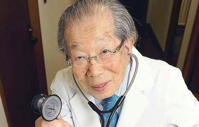 Dr. Shigeaki Hinohara, insanların uzun ömürlü olmasını sağlayan şeyin ne olduğunu açıklıyor!