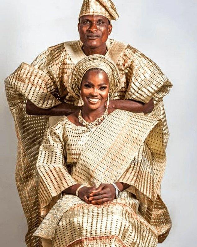 Kwara Eyaleti Valisinin eşi Olufolake Abdulrazaq, çifti barıştırmak için söz veriyor ve bir fotoğraf çekimi için ekip oluşturup aileyi kamera karşısına geçiriyor.