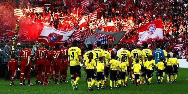"""Alman devlerinin bitmeyen rekabeti, ülkenin en büyük spor olayı: """"Der Klassiker"""""""