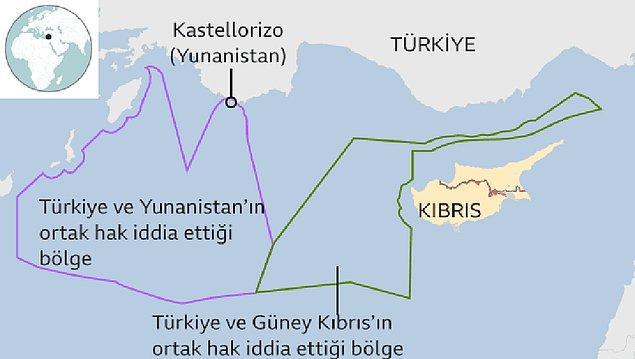 Doğu Akdeniz'de Türkiye - Yunanistan anlaşmazlığı