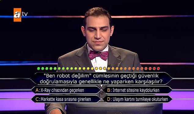11. Bu soru sayesinde bir kez daha hatırlatalım; Hiçbir gelin robot değildir!