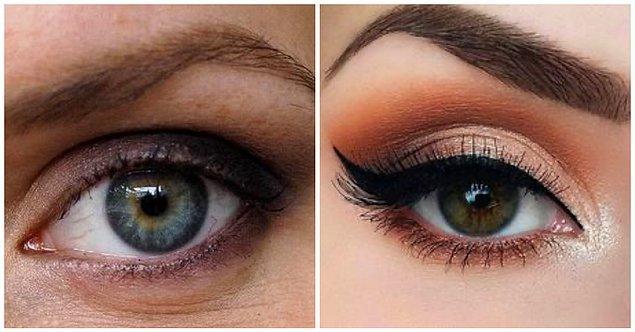 Yuvarlak Gözler: Koyu renklerin kraliçesi olun!