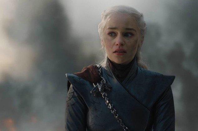 1. 'Taht Oyunları'ndaki Daenerys Targaryen